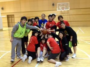 バスケの経験、男女に関わらずみんなが楽しめる「わいわい練習会」